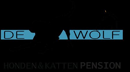 FINAL LOGO DE WOLF HONDEN en KATTEN PENSION RGB klein